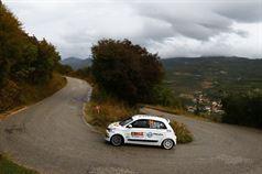 Riccardo Canzian, Matteo Nobili (Renault Twingo R R1A #54, Winners Rally Team), ITALIAN RALLY CHAMPIONSHIP