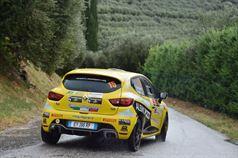 Kevin Gilardoni, Corrado Bonato (Renault Clio R R3T #15, Movisport), ITALIAN RALLY CHAMPIONSHIP
