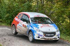 Andrea Mazzocchi, Silvia Gallotti (Peugeot 208 R2B #22, Pc Motorsport), ITALIAN RALLY CHAMPIONSHIP