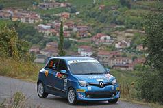 Deborah Sartori, Giancarla Guzzi (Renault Twingo R R1A #56, Pro Rally 2001), ITALIAN RALLY CHAMPIONSHIP