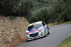 Giuseppe Testa, Daniele Mangiarotti (Peugeot 208 VTI R2B #20), ITALIAN RALLY CHAMPIONSHIP