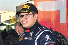 Giuseppe Testa (Peugeot 208 VTI R2B #20), ITALIAN RALLY CHAMPIONSHIP