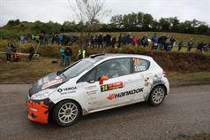 Andrea Vineis, Alessio Rodi (Peugeot 208 R2B #24, Cars For Fun), ITALIAN RALLY CHAMPIONSHIP