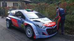 Corrado Fontana, Nicola Arena (Hyundai I20 WRC #4, Bluthunder Racing Italy), CAMPIONATO ITALIANO WRC