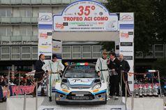 Stefano Albertini, Danilo Fappani (Ford Fiesta WRC #6, Mirabella Mille Miglia), CAMPIONATO ITALIANO WRC