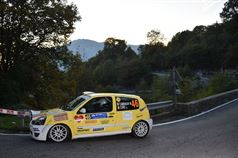 Moreno Cambiaghi, Lara Cere (Renault Clio RS N N3 #46, New Turbomark Rally Team), CAMPIONATO ITALIANO WRC