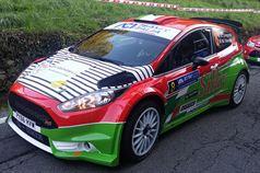 Andrea Crugnola, Michele Ferrara (Ford Fiesta R5 #8), CAMPIONATO ITALIANO WRC