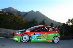 Andrea Crugnola, Michele Ferrara (Ford Fiesta R R5 #8, Valmo Corse R.T. Asd), CAMPIONATO ITALIANO WRC
