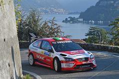 Luca Pedersoli, Anna Tomasi (Citroen C4 WRC #1), CAMPIONATO ITALIANO WRC