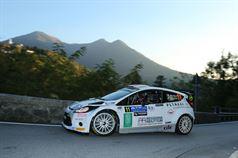 Davide Medici, Silvia Rocchi (Ford Fiesta Wrc #11, Movisport), CAMPIONATO ITALIANO WRC
