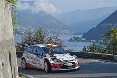 Manuel Sossella, Gabriele Falzone (Ford Fiesta WRC #5 Asd Scuderia Palladio), CAMPIONATO ITALIANO WRC